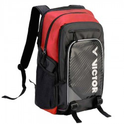 【VICTOR】BR9009-CD黑洋紅 A級新款雙肩後背包