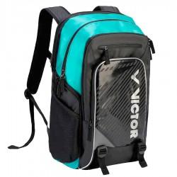 【VICTOR】BR9009-CR黑綠 A級新款雙肩後背包