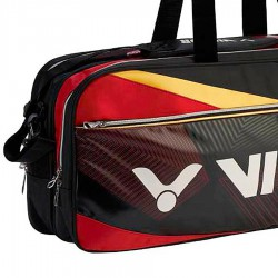【VICTOR】BR9609CD黑紅 12支裝矩型側背拍包