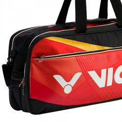 【VICTOR】BR9609DC洋紅黑 12支裝矩型側背拍包