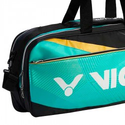【VICTOR】BR9609RC綠黑 12支裝矩型側背拍包