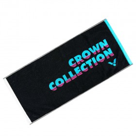 【VICTOR】Crown Collection運動毛巾C-4163C黑