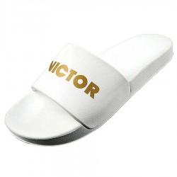【VICTOR】007S-A白 新款品牌時尚拖鞋