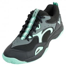 【VICTOR】A650-CR黑粉綠 寬楦羽球鞋