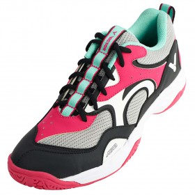 【VICTOR】A650-QC玫紅 寬楦羽球鞋