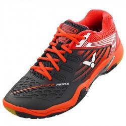 【VICTOR】A830II-HD深灰番茄紅 超寬楦羽球鞋