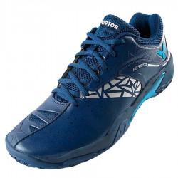 【VICTOR】A830III-B藍 3.5超寬楦羽球鞋