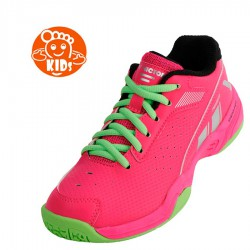 【VICTOR】P9500JR-Q極光紅 兒童羽球鞋