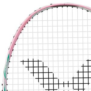 【VICTOR】極速JS-09L-I淺粉 女生雙打首選速度型羽球拍