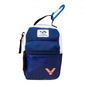 【VICTOR】PG8805B深藍 D型扣環零錢包