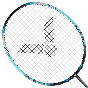 【VICTOR】突擊TK-ONIGIRI-U鬼斬藍綠 百洛碳素輕量進攻羽球拍
