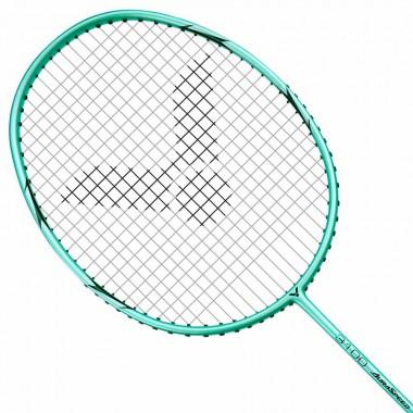 【VICTOR】神速ARS-3100R粉綠 輕量碳纖維4U穿線拍