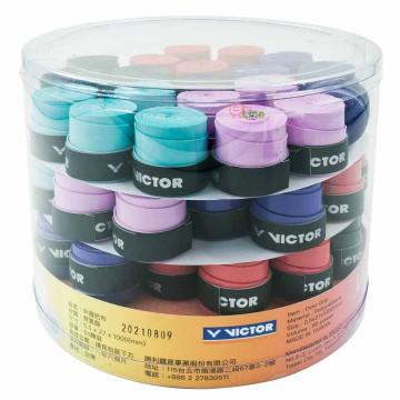 【VICTOR】C-1021C 五色混裝罐裝60粒握把皮(薄0.5mm)