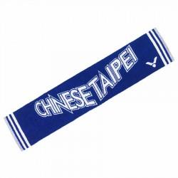 【VICTOR】C-4161F中華隊加油毛巾藍(長100cm)