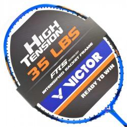 【VICTOR】突擊TK-220H-F琉璃藍 4U耐35磅超殺攻擊羽球拍