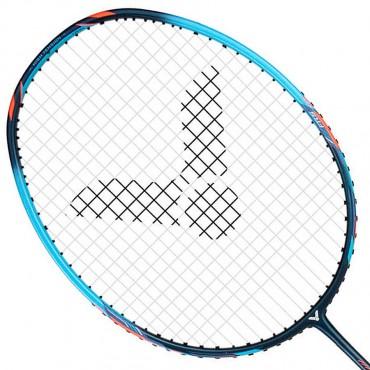 【VICTOR】突擊TK-HMR重鎚-M亮天藍 5U耐高磅攻擊羽球拍