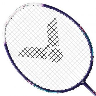 【VICTOR】突擊TK-HMR重鎚-LIGHT-J靛青 5U超輕攻擊羽球拍